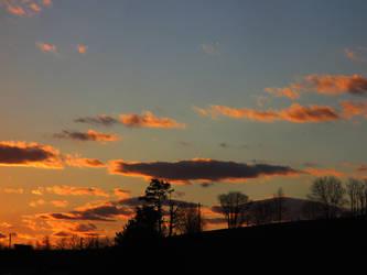 sunset clouds by sunbeamfireking