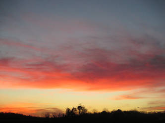 fading sky by sunbeamfireking