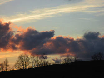 along the hill by sunbeamfireking