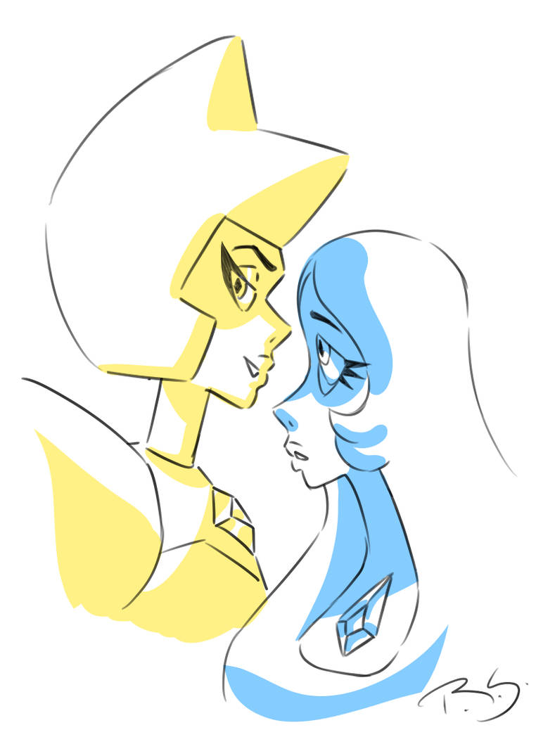 I've been drawing a lot of SU art lately. I might take a break and draw something else
