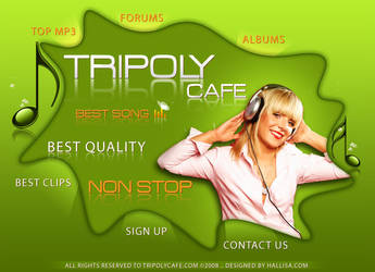 Tripoly Cafe by HaLLisa
