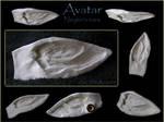 Avatar - Neytiri's ears by WhiteRavenCosplay
