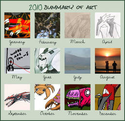 2010 Art Summary by WorldSerpent