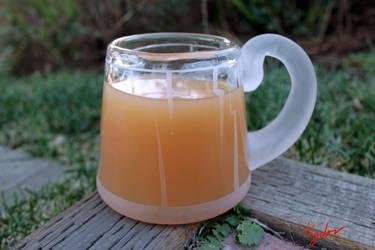 Glass Cider Mug by Algedor