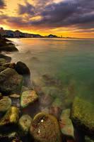 Penang sunset by sifu