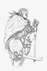 Warrior by DarkMechanic