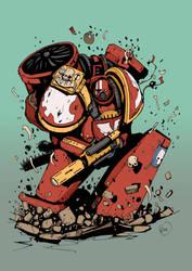 The Emperor's Hawk by DarkMechanic