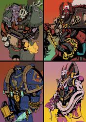 The Four Powers by DarkMechanic