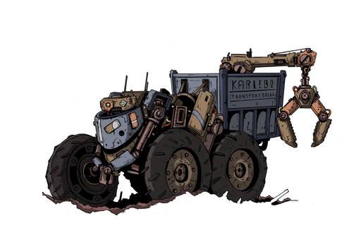 MYZ - Construction-Bot 3 by DarkMechanic
