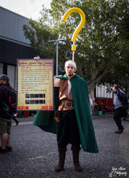 Quest Giver Cosplay by EmperorMossy