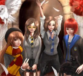 Hogwarts Students by effy7