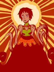 Tentacle Lady by Genfaux