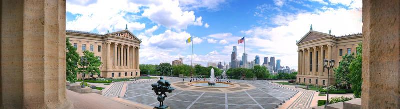 Philadelphia Museum of Art by Digidrama