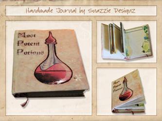 Essential Oils Journal by snazzie-designz