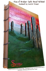 Handmade Ring of Brodgar Orkney Journal - Profile by snazzie-designz
