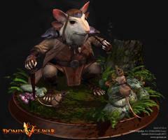 God of Mice by Goraaz