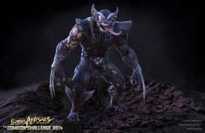 Venom Wolverine by Goraaz