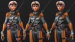 Exoskeleton Sniper - Closeup by Goraaz