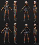 Exoskeleton Sniper - Construction by Goraaz