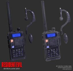 Jill's walkie talkie by Goraaz