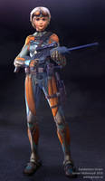 Exoskeleton - Alternate pose by Goraaz