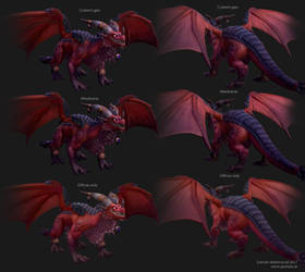 Alexstrasza Dragon - Construction by Goraaz