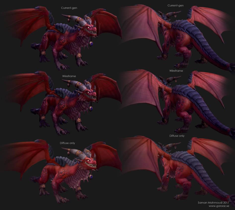 Alexstrasza Dragon - Construction by Goraaz