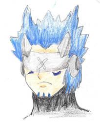 Gankoomon Blue Flame Mode by poseidon777
