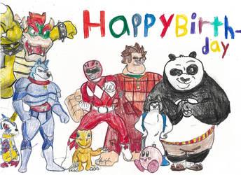For Alan, Happ Birthday! by poseidon777