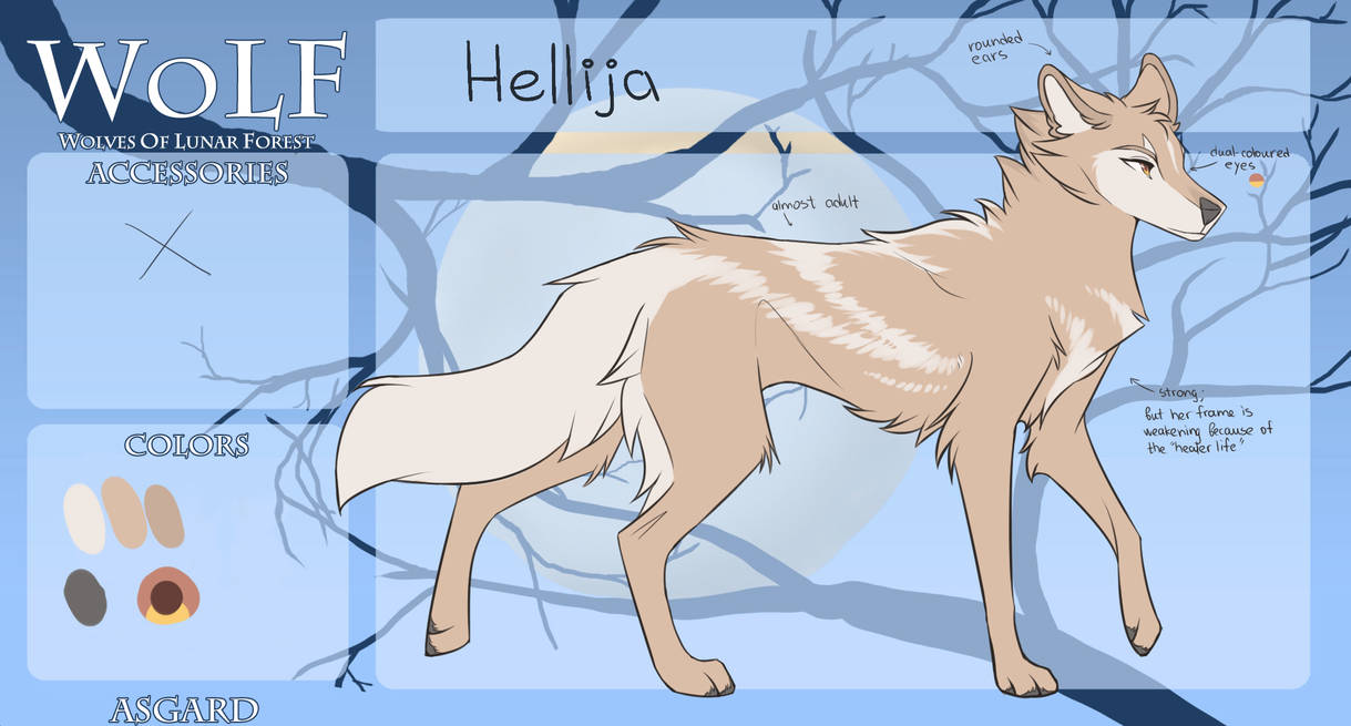 WoLF: Hellija | T1 | Apprentice: Healer by Snowy-Owl-Of-Dawn