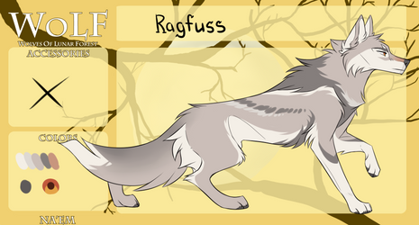 WoLF: Ragfuss | T0 by Snowy-Owl-Of-Dawn