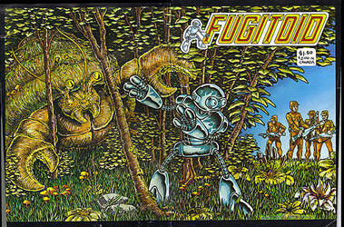 Fugitoid by Eastman and Laird by FringerFrankie