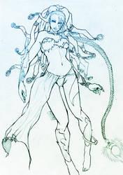 Shiva, Final Fantasy by Nasnat