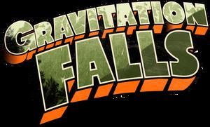 Gravitation Falls Logo by MaxiGamer