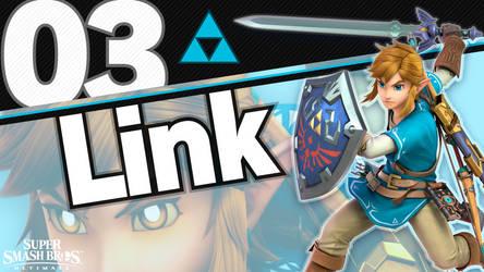 [4K] Super Smash Bros. Ultimate - 03 Link by MaxiGamer