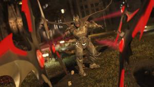 Batman by skullhunter343