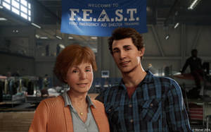 Peter and Aunt May by zack-awesome