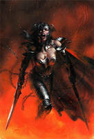 Wonder Woman Goddess of War by zack-awesome