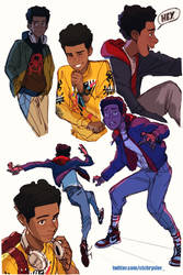 Miles Morales by zack-awesome