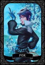 Persona 5 - Fox/Yusuke by munette
