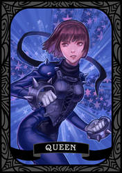 Persona 5 - Queen/Makoto by munette