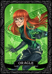 Persona 5 - Oracle/Futaba by munette