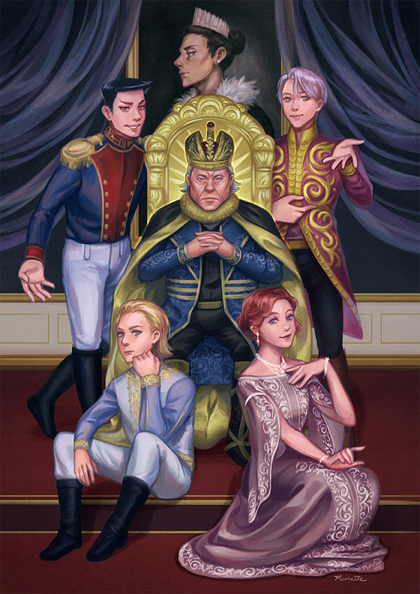 The Emperor (Russian family) by munette
