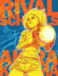 Akira Kazama - Capcom Fighting Tribute by omarito