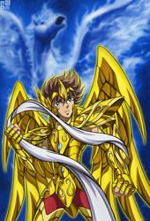 Sagittarius Seiya by FlyingKirin