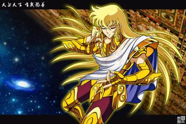 Virgo Shaka by FlyingKirin