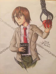 Light Yagami by Kro-987