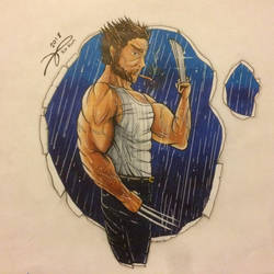 Wolverine by Kro-987