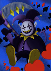 Chaotic Jevil by Nsane99