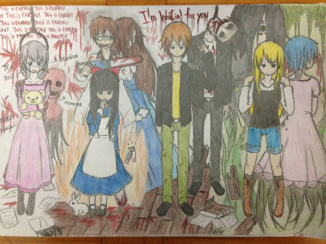 Rpg Horror Main Characters 2 By Scissorboy1995 On Deviantart